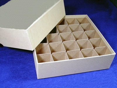 Coin Roll Box for 25 Tubes of LARGE DOLLARS