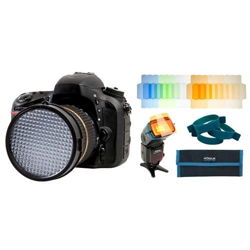 ExpoImaging ExpoDisc 77mm Pro White Balance Filter V2 and Rogue Flash Gels ColorCorrection Kit Bundle by ExpoImaging