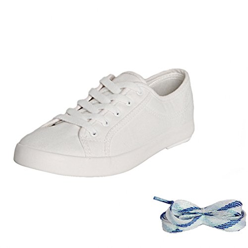 WeißL Leichte und Herren Trail Schuhe Segeltuch Damen Lässige Turnschuhe Klassische Schuhe Sneakers DIY Weise Weweya Breathable Art Weiße Wanderschuhe SxUwqOUn
