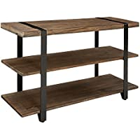 Alaterre Furniture Modesto Rustic Natural Console Table
