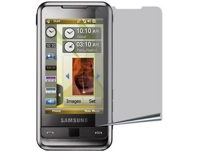 Mirror Shield Screen Protector for Samsung Omnia i900 - Lcd I900