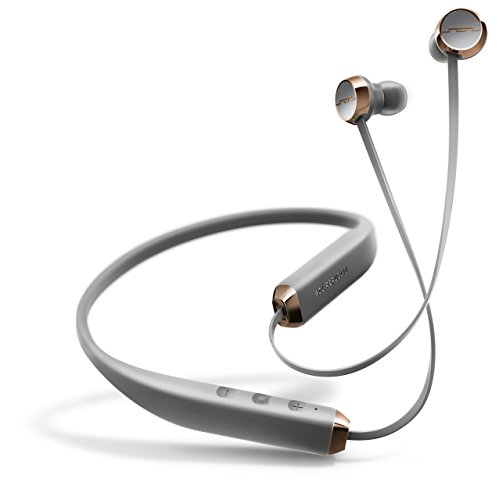 SOL REPUBLIC Shadow Wireless In-Ear Headphones-Grey/Rose Gold (Certified Refurbished)