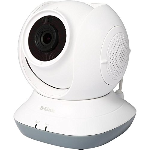 D-Link Pan & Tilt HD Wi-Fi Baby Camera - Temperature Sensor,