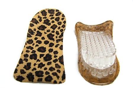 FreshGadgetz 1 Paire de Semelles Rehaussantes à Chaussures en Gel de Silicone pour Hommes/Femmes - Gris