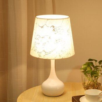 Unbekannt Set Tischlampe-Die Schlafzimmer Nachttischlampe intelligente Dimmer einfachen und modernen Dekor mit Warmer Nacht führte Schreibtischlampen,Dimmer