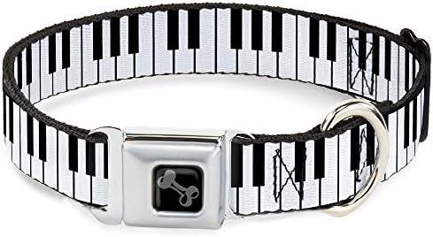 Buckle Down - Llavero de Piano para Perro, tamaño Mediano ...