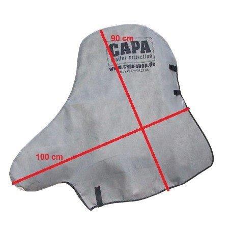 CAPA Deichselschutzhaube f/ür Anh/änger Kupplung und Automatikst/ützrad Schutzh/ülle Abdeckung Persenning Abdeckplane BC-01