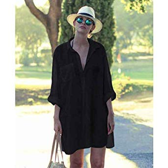 d2979f4b429b26 Image Unavailable. Image not available for. Colour  Toppick Pareo Beach  Dress ...