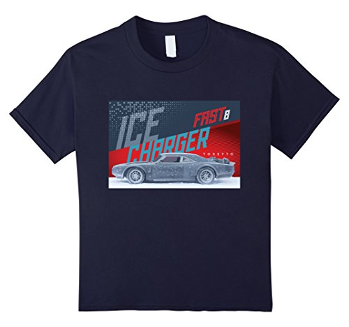 Price comparison product image Kids The Fate of the Furious - Toretto's Charger Kid's T-shirt 6 Navy