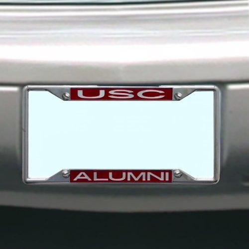 NCAA South Carolina Fighting Gamecocks License Plate Frame Alumni ()