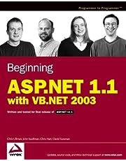 Beginning ASP.NET 1.1 with VB.NET 2003