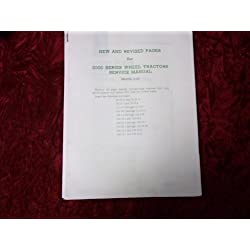 John Deere New Revised Pages 2000 Series OEM Servi