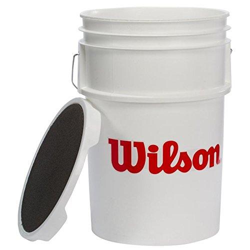 (Wilson Ball Bucket with Lid)