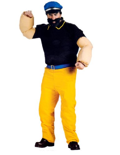 [Brutus Adult Costume] (Popeye Plus Size Adult Mens Costumes)