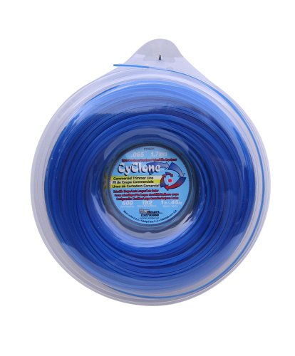 Commercial Spool (Cyclone .065-Inch-by-600-Foot Spool Commercial Grade 6-Blade 1-Pound Grass Trimmer Line, Blue CY065D1-12)