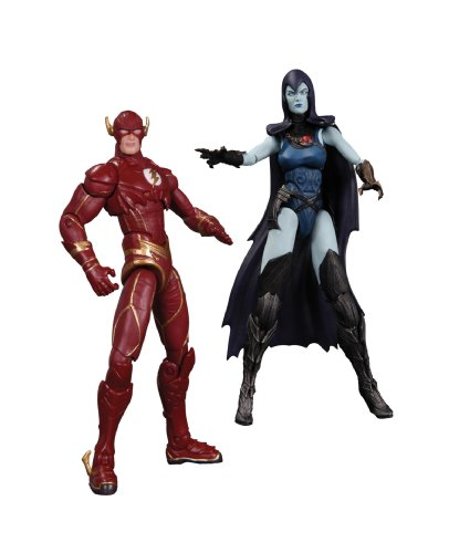 DC Collectibles Injustice The Flash vs. Raven Action Figure (2-Pack)