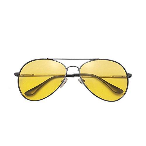 2 Gafas Visión de Gafas de para 3 de Espejo polarizadas Gafas Nocturna Hombres DT Sol Conducción Gafas Color qwTpPp