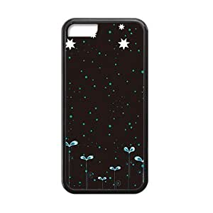 Night Sky Black Phone Case for Iphone 5C