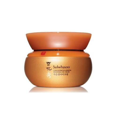 KOREAN COSMETICS, AmorePacific_ Sulwhasoo, Concentrated Ginseng Renewing Eye Cream (25ml) (jaeumsaeng Eye Cream)+FREE GIFT (SoftBay Mask Pack 2Sheets)[001KR]