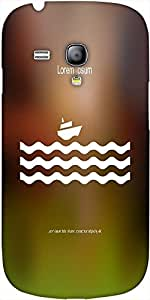 Snoogg Stylized Cruise Liner And Waves Designer Protective Back Case Cover Fo...