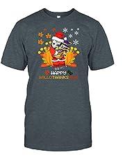 Baby GRO.ot Hug Baby Yo.da Happy Hallothanksmas T Shirt