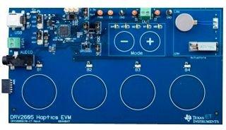 Evaluation Board, Piezo Haptic Driver, DRV2605