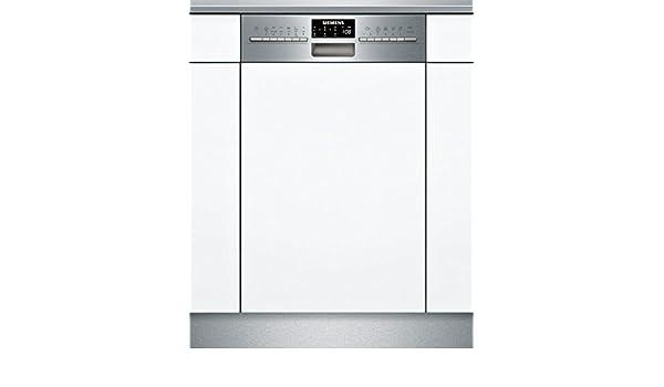Siemens iQ500 SR556S00TE lavavajilla Semi-incorporado 10 cubiertos ...