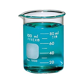 pyrex griffin low form 100ml beaker graduated ea science lab