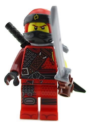 LEGO Ninjago Kai Red Ninja Minifigure 70655 Hunted Mini Fig]()