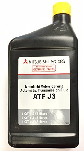 Genuine Mitsubishi J3 MZ320286 Automatic Transmission Fluid - 4 Quarts - Outlander 3.0L V6 Engine with 6 Speed Automatic Transmission 2010 2011 2012 2013 2014 2015 2016 ONLY
