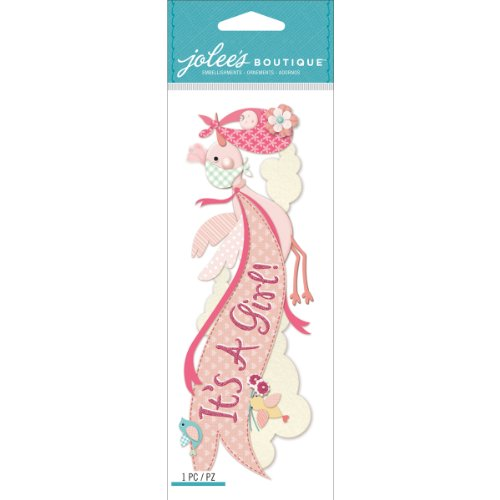 Jolee's Boutique Dimensional Stickers, It's a Girl