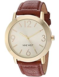 Women's NW/1772CHHY Gold-Tone and Honey Colored Strap Watch