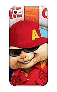 New Fashion Premium Tpu Case Cover For Iphone 5c - Alvin And The Chipmunks 3