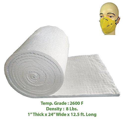 Ceramic Fiber Blanket (2600F, 8# Density) (1