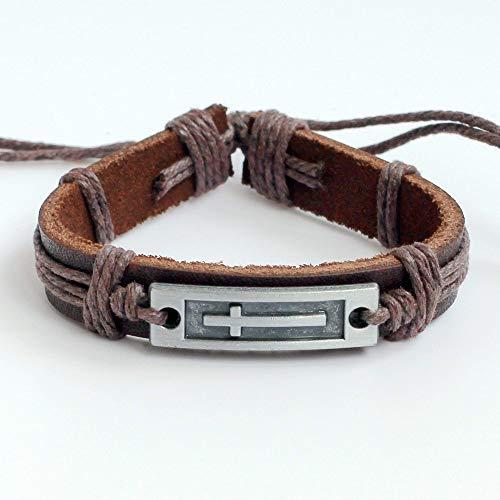 - Men's leather bracelet Women's leather bracelet Cross bracelet Charm bracelet Cords bracelet Ropes bracelet Leather band bracelet Leather bangle bracelet Christian bracelet Religion bracelet