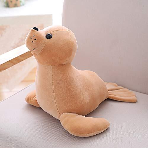 GOONEE Animal Plush - Almohada de Felpa Suave con Sellos ...
