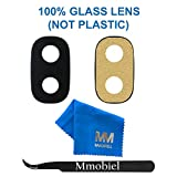 MMOBIEL Back Rear Camera Glass Lens Replacement Compatible with Samsung Galaxy J7 Pro J730 Set incl. Tweezers and Cloth
