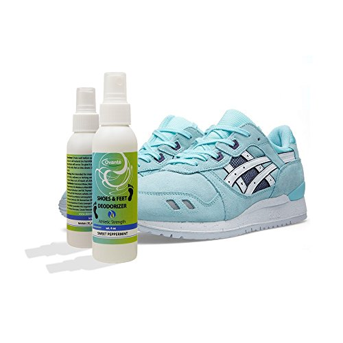 Deodorizing Foot Spray for Smelly Sweaty feet, Shoes and Socks, Eats Stinky Odors, Kills Bacteria & Fungus with Tea Tree Oil, Natural Way to Remedy Athlete's Foot - 4.0 oz