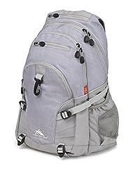 High Sierra 53646-4956 Loop Backpack, Grey/Ash/Silver, International Carry-On