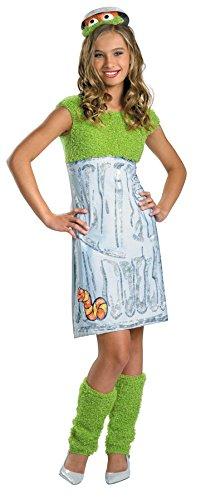 [Morris Costumes Girl's SESAME ST OSCAR TWEEN 14-16] (50s Girl Costumes Ideas)