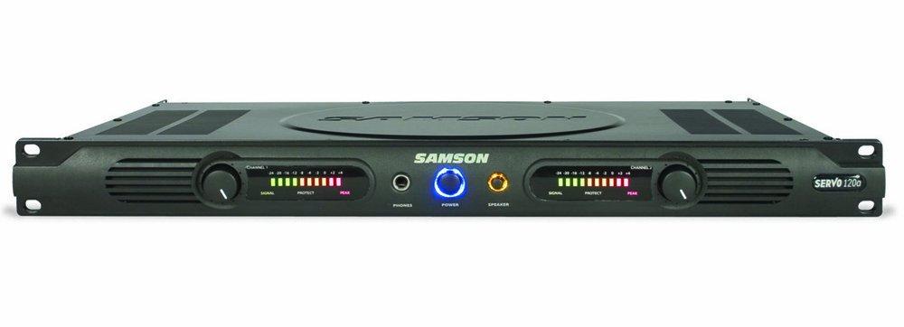 Samson Servo 120a Power Amplifier Samson Audio