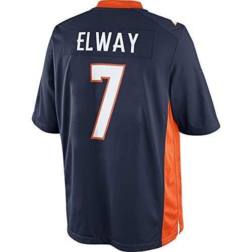 - John_Elway_#7_Navy_Football_Jersey_for_Men's/Women's/Youth