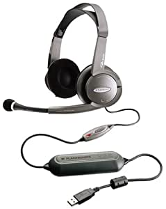 plantronics dsp 500 digitally enhanced usb gaming multimedia stereo headset and