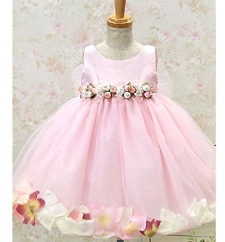 [Dress with flower/mini bag with] children's kids dress f...