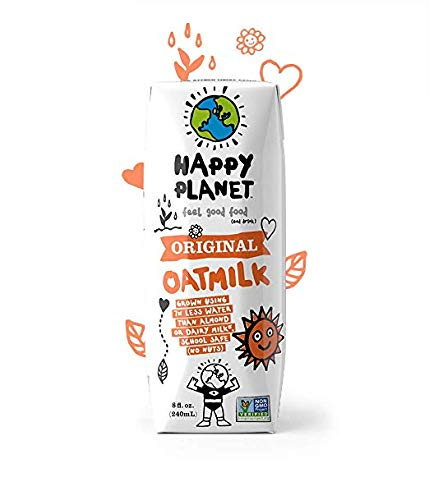 Happy Planet Oat Milk Original 8 oz Pack of 15