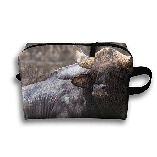 Gaur Animal Natural Scenery Travel / Home Use Storage Bag, Carts Storage Space, Space Saver Recycling Bags, Organizers Duffel Set by JIEOTMYQ