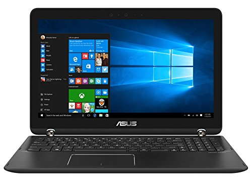 "Asus Q524UQ-BI7T20 2-in-1 15.6"" Touch-Screen Laptop Intel Core 12GB Memory NVIDIA GeForce 940MX 2TB Hard Drive Sandblasted matte black aluminum"