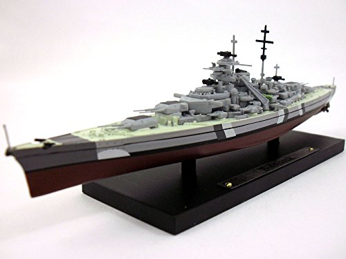 Bismarck German Battleship 1/1250 Scale Diecast Metal Model Ship (Metal Ship Diecast)
