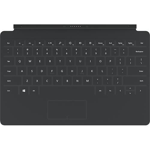 (Microsoft Surface Touch Cover 2, Charcoal (N3W-00001))