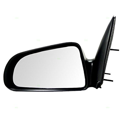 Drivers Manual Side View Mirror 5x7 Textured Replacement for Dodge Mitsubishi Pickup Truck 55077621AD